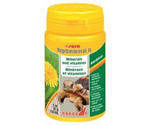 """Il """"plus"""" di minerali e vitamine per rettili erbivori."""