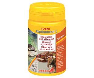 """Il """"plus"""" di minerali e vitamine per rettili carnivori."""