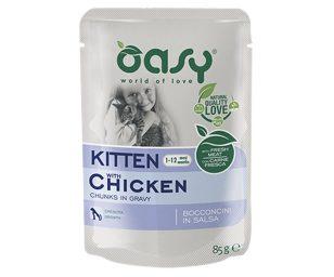 Alimento completo con pollo per gattini da 1 a 12 mesi