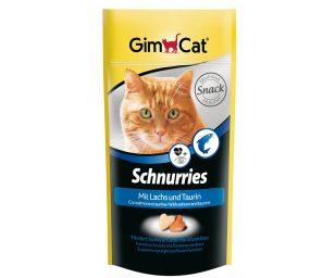 Gli schnurries gimcat contengono tanti ingredienti squisiti