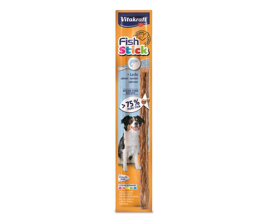 Fish stick salmone: delizioso bastoncino snack con oltre il 75% di pesce.