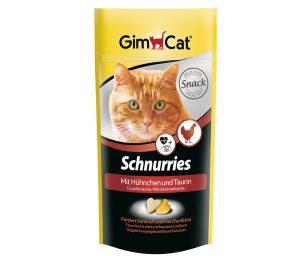 Gli schnurries gimcat contengono tanti ingredienti saporiti