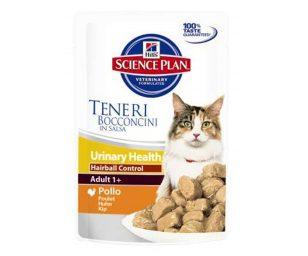 Hill's™ urinary health hairball control è formulato per supportare la salute del sistema urinario del tuo gatto
