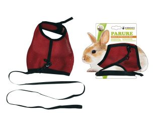 Parure per piccoli animali in poliestere e nylon resistenti.
