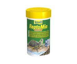 Mangime premium nutritivamente bilanciato per le giovani tartarughe d'acqua.