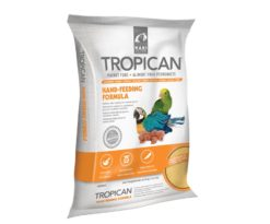 Tropican Hand-Feeding Formula fornisce una corretta alimentazione quotidiana per tutto lo svezzamento che è un periodo critico della vita di un pappagallo.