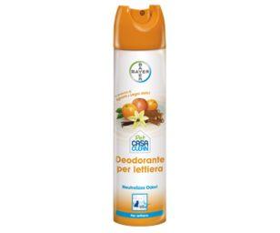 Neutralizza odori per la casa con animali al profumo di agrumi e legni dolci.