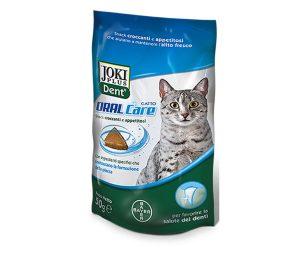 Joki plus dent oral care mangime complementare per gatti.