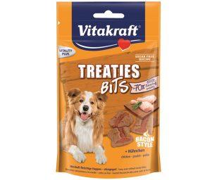 I Treaties Bits sono gustosi bocconcini con un contenuto elevato di carne ed un goloso ripieno che fa impazzire tutti i cani.