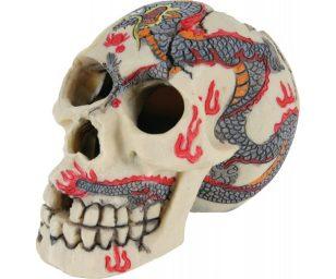 Decorazione cranio s.