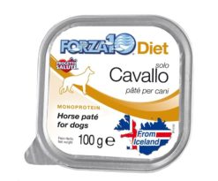 Forza10 solo diet cavallo è una dieta monoproteica alle carni alternative della linea dietetica studiata da sanypet per la riduzione delle allergie e delle intolleranze alimentari.