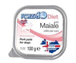 Forza10 solo diet maiale è una dieta monoproteica alle carni alternative della linea dietetica studiata da sanypet per la riduzione delle allergie e delle intolleranze alimentari.