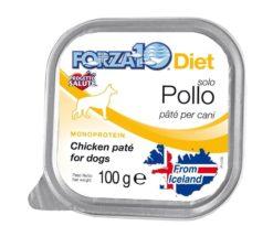 Forza10 solo diet pollo è una dieta monoproteica alle carni alternative della linea dietetica studiata da sanypet per la riduzione delle allergie e delle intolleranze alimentari.