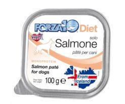 Forza10 solo diet salmone è una dieta monoproteica al pesce della linea dietetica studiata da sanypet per la riduzione delle allergie e delle intolleranze alimentari.