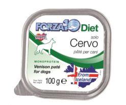 Forza10 solo diet cervo è una dieta monoproteica alle carni alternative della linea dietetica studiata da sanypet per la riduzione delle allergie e delle intolleranze alimentari.
