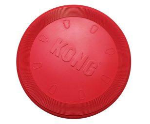 Kong flyer è il miglior frisbee in gomma morbida disponibile sul mercato. Prodotto in resistente gomma kong classic