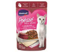 Questi deliziosi dolcetti con cuore prezioso in un sacco di salsa fine sono una vera delizia culinaria per il tuo gatto e sono irresistibili nel gusto.