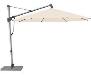 Sombrano ombrellone cm 350x350 bianco.