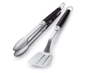 Kit 2 accessori Weber in acciaio inox
