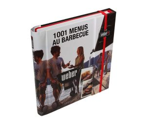 Libro 1001 menu' al barbecue Weber