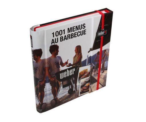 Libro 1001 menu' al barbecue Weber