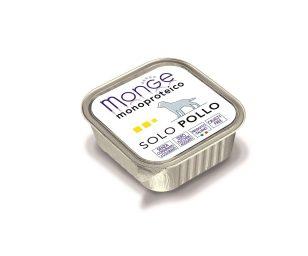 Paté monoproteico superpremium con carni di pollo selezionate di altissima qualità.