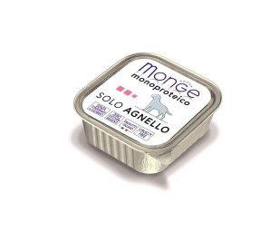 Paté monoproteico superpremium con carni di agnello selezionate di altissima qualità.