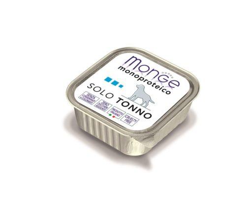 Paté monoproteico superpremium con carni di tonno selezionate di altissima qualità.