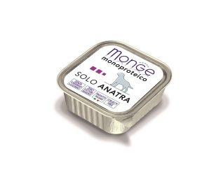 Paté monoproteico superpremium con carni di anatra selezionate di altissima qualità.