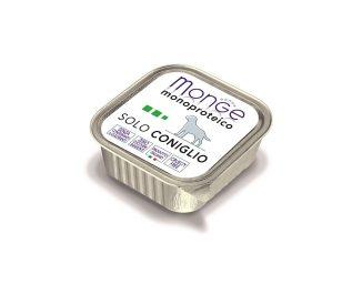 Paté monoproteico superpremium con carni di coniglio selezionate di altissima qualità.