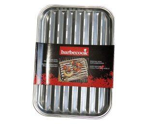 Pratica griglia per una perfetta cottura del cibo. Impedisce al cibo di entrare direttamente in contatto con la fiamma e aiuta a mantenere pulita la griglia.