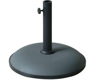 Base per ombrellone 15 kg con tubo