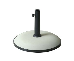 Base per ombrellone 25 kg con tubo