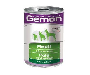 Il paté con agnello è un alimento completo per cani adulti di età compresa tra 1 e 8 anni. Una deliziosa ricetta made in italy