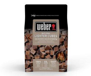 Confezione da 48 cubetti accendi-fuoco naturali Weber