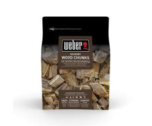 Grandi pezzi di legna per affumicatura Weber - hickory