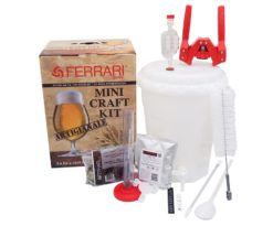 Mini craft kit birra lux.