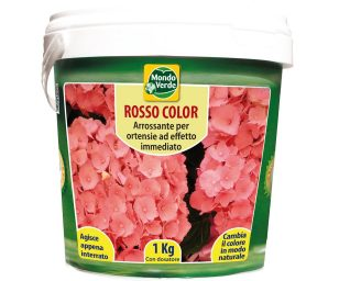 Rosso color ortensie 1 kg.