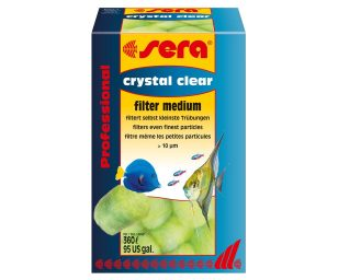Sera crystal clear.