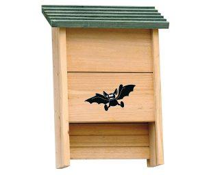 Permette di offrire ospitalità sul terrazzo o in giardino ai pipistrelli