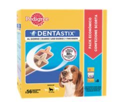 Pedigree dentastix medium 56 pz.