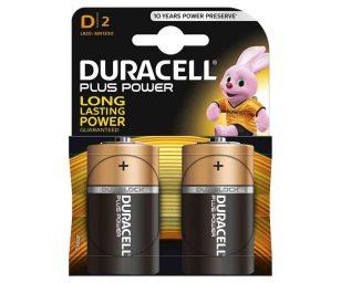 Duracell con Duralock™ garantisce che l'energia a lunga durata incorporata in ciascuna batteria Plus Power rimanga al 100% per un periodo che si estende fino a 10 anni prima dell'uso.