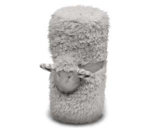 Coperta decorata con simpatica pecorella