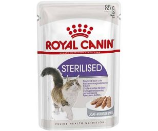 Royal canin cat sterilised in loaf 85 g.