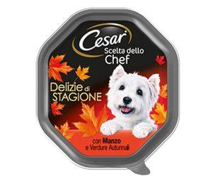 La linea Cesar® Scelta dello Chef abbina ingredienti finemente selezionati all'arte culinaria