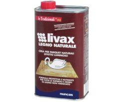 Cera livax legno naturale 1 litro.