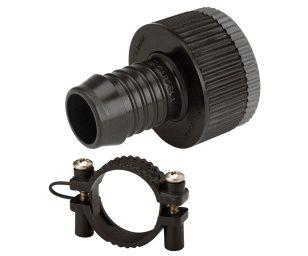 L'adattatore gardena favorisce un collegamento permanente e resistente alla pressione tra un rubinetto e un punto di raccordo interrato gardena.