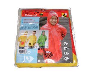 Mantella impermeabile animali per bambini 3-5.