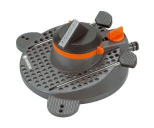 L'irrigatore circolare a settori tango comfort gardena è un irrigatore circolare particolarmente silenzioso e facile da usare per superfici ridotte ed estese.