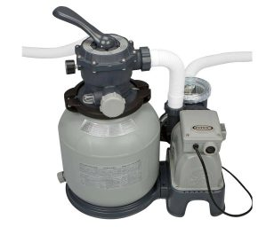 Pompa a Sabbia - Flusso d'Acqua: 7.900 l/h - Intex 28646